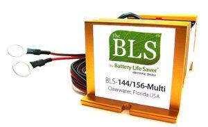 Battery Life Saver BLS-144A 144 volt Battery System Desulfator Rejuvenator