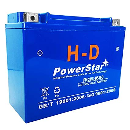 PowerStar Battery For UTX24HL-BS 12V 210CCA with 3 Year Warranty