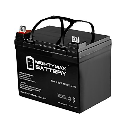 Mighty Max Battery 12V 35AH SLA Battery Replacement for Ego Cycle 2 LX, SE Scooter brand product