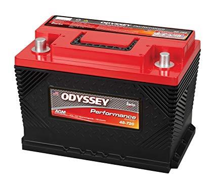 Odyssey Battery 0752-2020 Performance Powersport Battery Group 48 723 CCA w/SAE Terminals Performance Powersport Battery