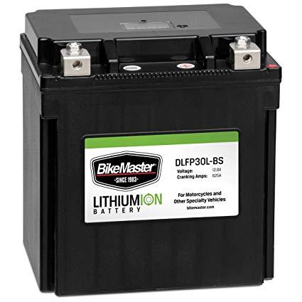 BikeMaster Lithium Ion Battery DLFP-30L-BS
