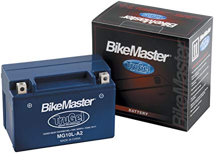 BikeMaster TruGel Battery - 53030/Blue