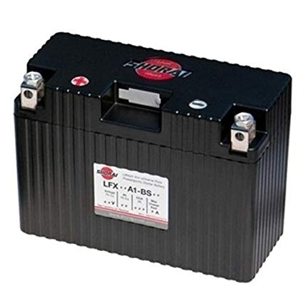Shorai Lithium-Iron Battery LFX18A1-BS12 for Multiple Applications (LFX18A1-BS12)