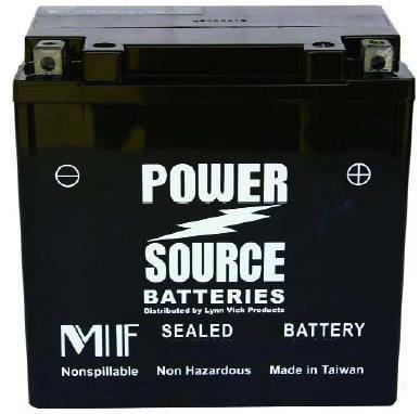 Power Source 1999 - 2002 Suzuki LT-F300F KingQuad ATV High Performance Sealed Battery
