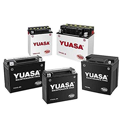 Yuasa YB16-B-CX YuMicron CX Battery for 1977-2000 Harley Davidson Models