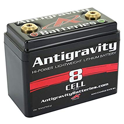 Antigravity Batteries AG-801 8-Cell Lithium Ion Motorcycle Battery