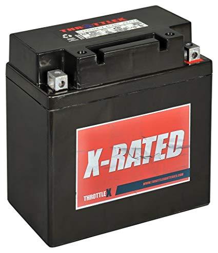 ThrottleX Batteries - ADX16CLBBS - AGM Replacement Power Sport Battery