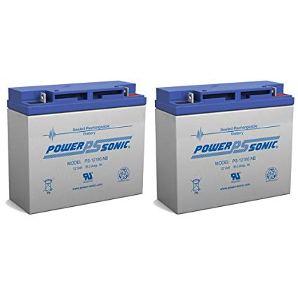 12V 18AH Replacement Battery for Jump n Carry JNC660 JNCAIR JNC 660 JNC4000 - 2 Pack