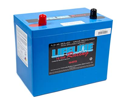 Lifeline 1640TB 16 Volt 2 Post Battery