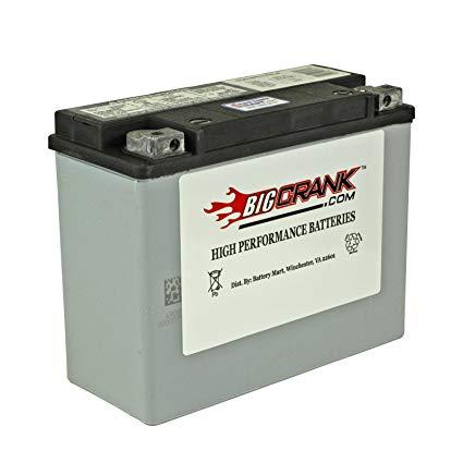 BatteryMart USA-Made Big Crank ETX18L AGM Maintenance Free Battery