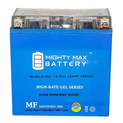 Mighty Max Battery YB16CL-B GEL 12V 19Ah Battery for YAMAHA Wave Runner All CC 87-'09 brand product
