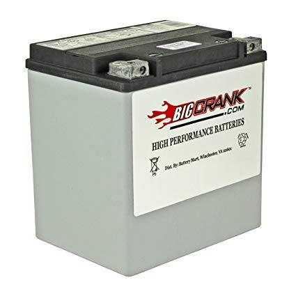 BatteryMart ETX-30L for HD 2000-2015 Touring CVO FLHRSE FLHTKSE, FLHTCUS, FLHXSE, FLHRSE Road King, Limited, Ultra Classic Electra Glide,Custom 66010-97C
