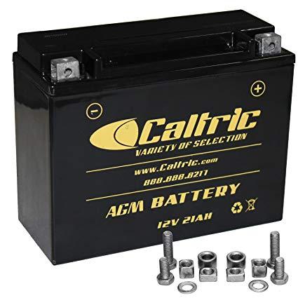 CALTRIC AGM BATTERY Fits ARCTIC CAT 0645-197, 0645-432, 0745-059, 0745-230