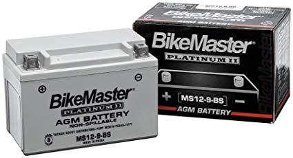 BikeMaster AGM Platinum II Battery MS12-30CL-B