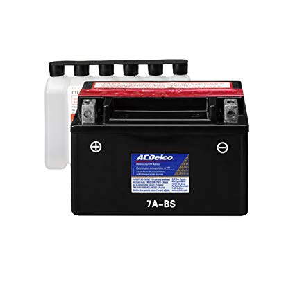 ACDelco ATX7ABS Specialty AGM Powersports JIS 7A-BS Battery