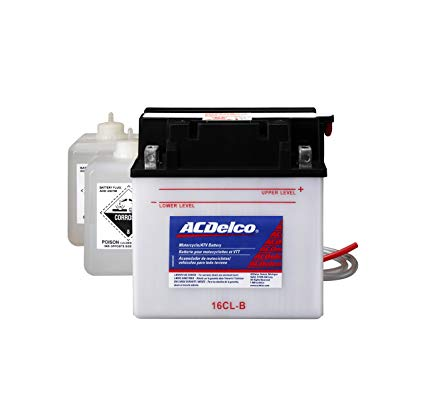 ACDelco AB16CLB Specialty Conventional Powersports JIS 16CL-B Battery