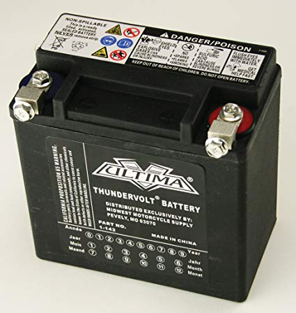 Ultima AGM Battery 1-143 for XL models 2004, OEM# 65958-04
