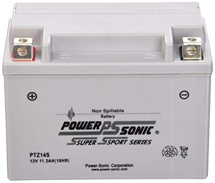 Power-Sonic (PTZ14S) Sealed Maintenance Free Powersport Battery